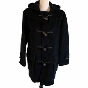 "Burberry- Black ""Duffle Mini 99"" Wool Coat/Jacket"